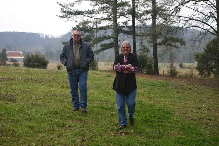 I got to see a lot of Alabama and Tennessee countryside while helping Bob and Lynda look at acreages during my visit.
