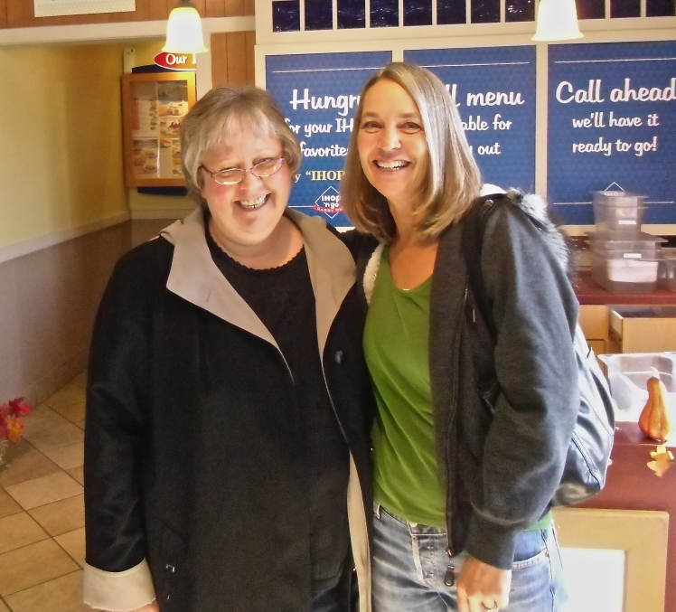 Sandy drove from Iowa to Muskogee, OK (to visit family). I drove across Oklahoma to meet her.