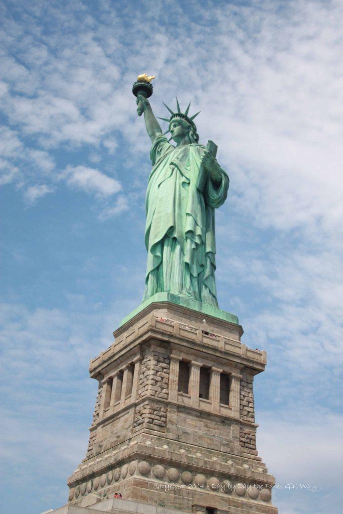 Lady Liberty was stunning!