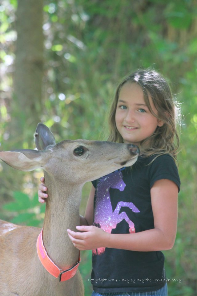 Why not give Riley Jo's hair a little tug too?? Daisy seemed completely enthralled with Riley Jo!