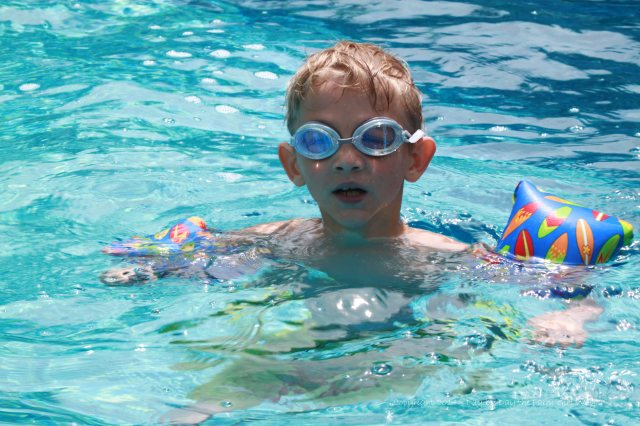 Wager was an expert swimmer!