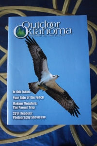 The 2014 issue of Outdoor Oklahoma featuring the Readers' Photography Showcase.