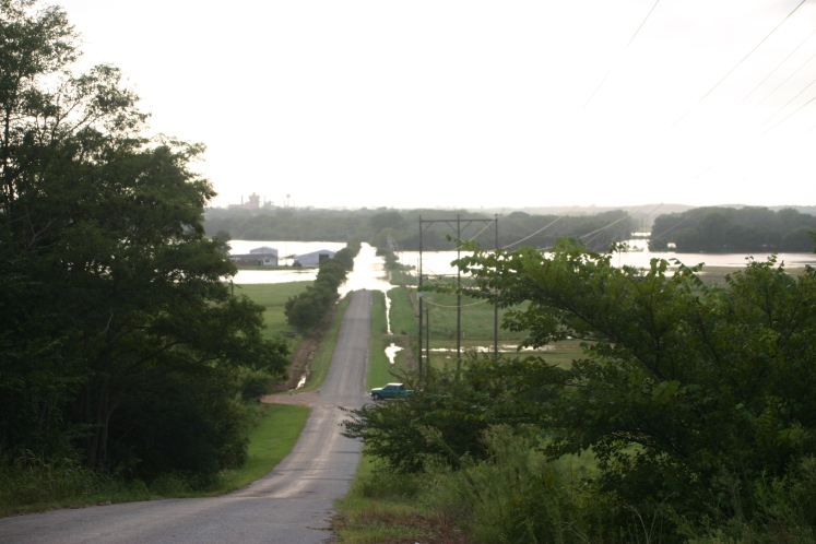 The Washita River flood of 2007.