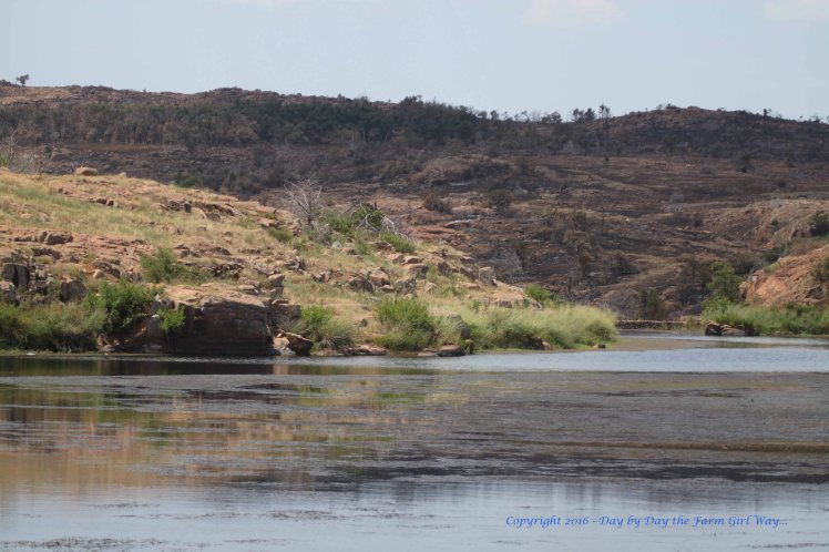 The landscape in the Wichita Mountain Wildlife refuge is spectacular any time of year.